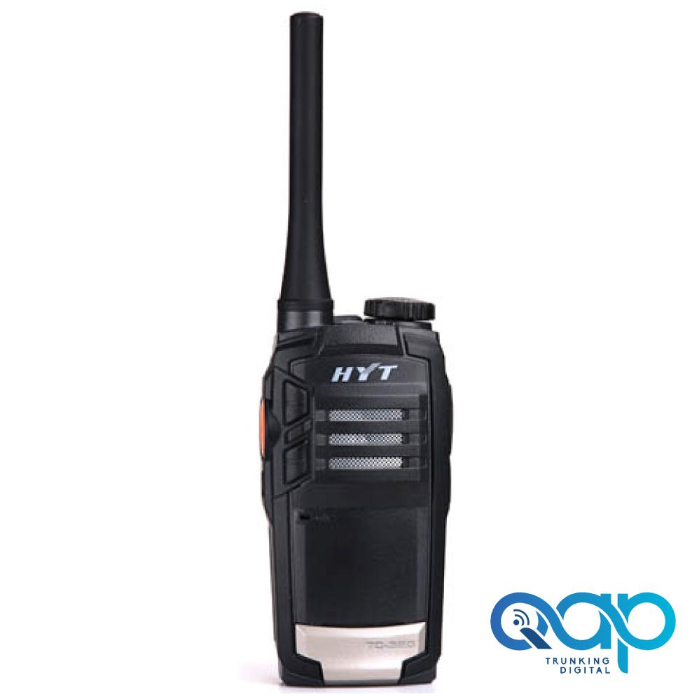 Imagen de un radio Hytera TC320